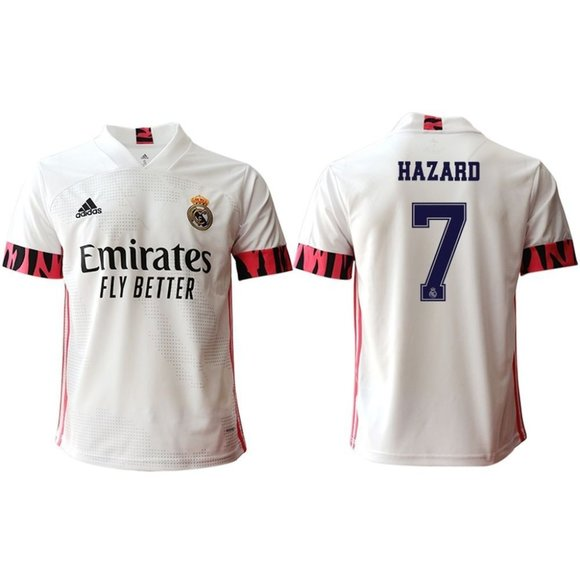 Other - Real Madrid Eden Hazard White 20-21 Jersey